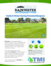 Rainwater Tech Sheet