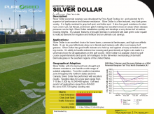 Silver Dollar Techsheet